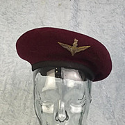Early World War II British Other Ranks Paratroopers Beret
