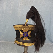 Victorian 10th Light Dragoons General Officers 1822/29 Pattern Bell Top Shako