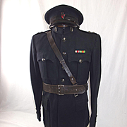 Circa WW2 Royal Ulster Constabulary  District Inspector 3rd Class Ulster 'B' Specials Tuni
