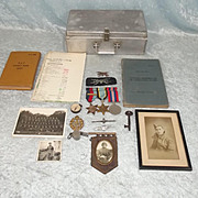 WW2 No. 640 RAF Bomber Squadron Air Crew Europe Medals With Log Book Etc.