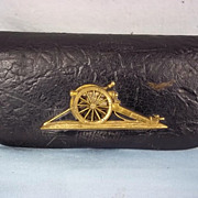 Victorian English Royal Artillery Officers Cross Belt Pouch