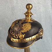 M1895 Prussian Artillery Reservists Officers Pickelhaube Helmet