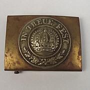 Rare WW1 German Bavarian Army Belt Buckle