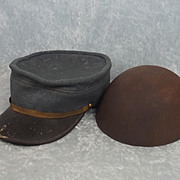"""French Model 1914 Kepi & La Cervelière (""""Skull-cap"""")"""