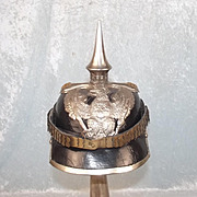 Model 1860 German Prussian Officers Pickelhaube