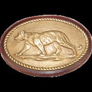 HMS Tiger Battlecruiser 1913 Bronze Boat Badge