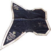 A British Victorian Westmorland and Cumberland Yeomanry Shabraque Saddle Cloth