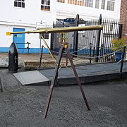 A Very Large British c1865 Telescope & Tripod By Wray Of London