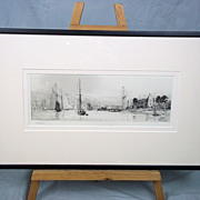 Royal Yacht Squadron Cowes Isle of Wight by W.L. Wyllie