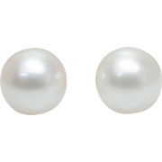 SALE Small Cream Pearl Stud Earrings Simple Dainty Studs Pearl Earrings Pearls Wedding Jewelry