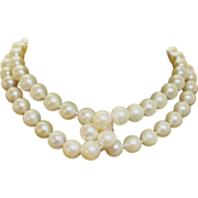 Beautiful Pearl Strand Necklace