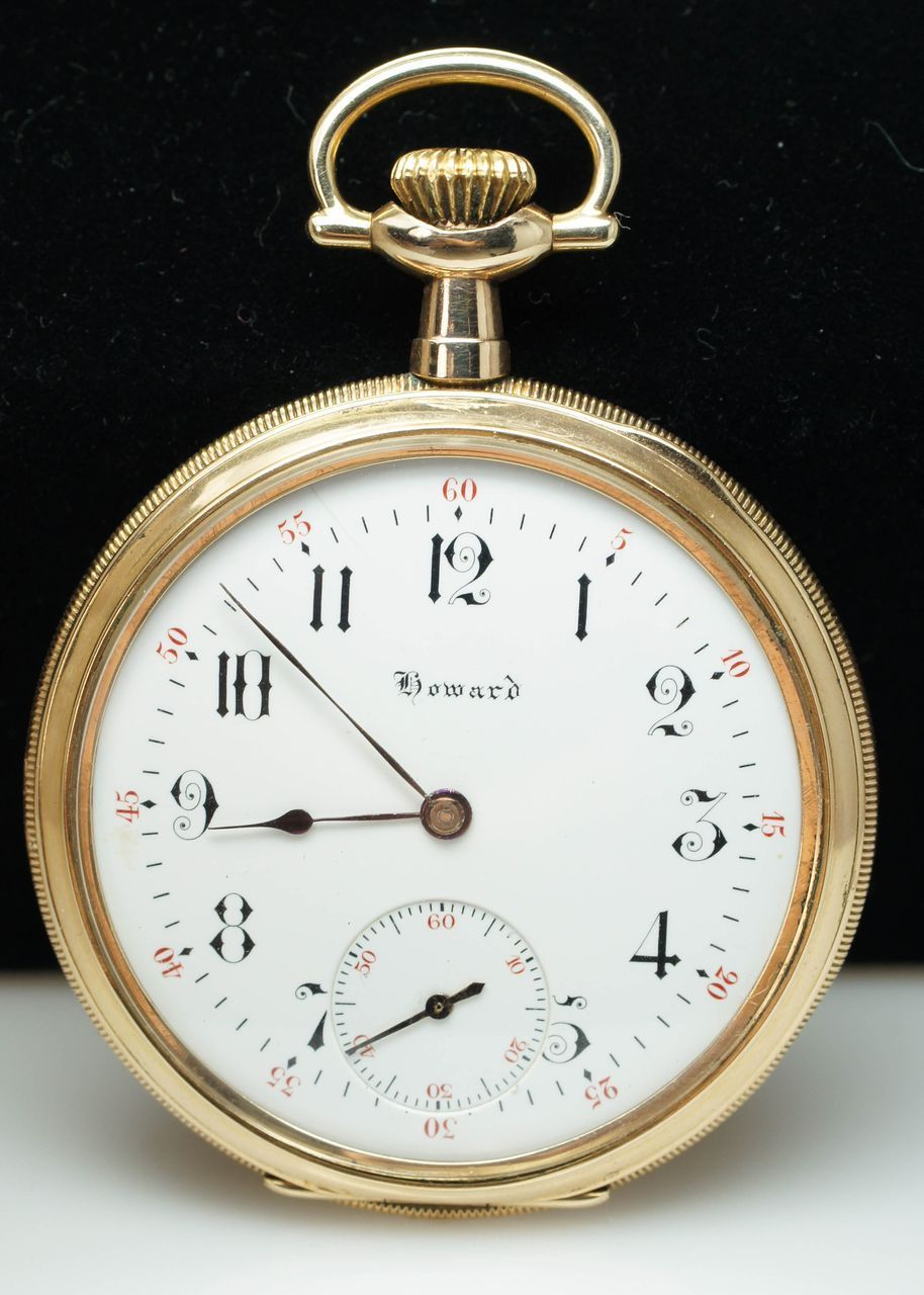 Antique Gold Filled E. Howard Pocket Watch | Pocket watch