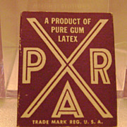 Vintage Par Prophylactic-Condom Cardboard Box