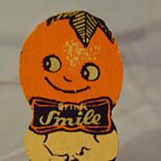 Vintage Smile Soda Pin