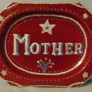 Vintage End of Day Granite Platter