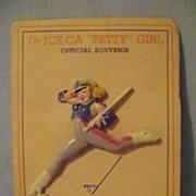 Vintage 1944 Petty Ice Capades Pin