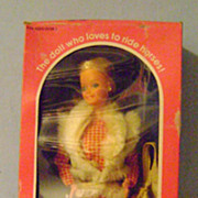 Horse Lovin' Barbie Doll In Original Box