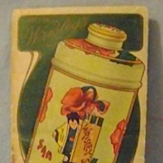 Vintage Sample Pac San Toy Talcum Powder