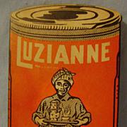 Vintage Luzianne Coffee Needle Packet