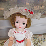 Cissy Doll Dressed in #2095 Organdy Summer Gown