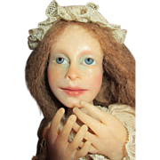 French Looking Artist Doll - Used in Tiffany's Christmas Window Display in New York in 1982