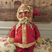 Antique Mask Faced Santa Doll
