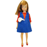 Vintage 1964 Ideal Dodie Doll - Pepper's Friend - Super Condition