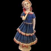 Enchanting Doll House Doll - Artist Original - One Of A Kind