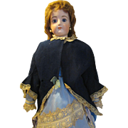 Antique Coat/Cape for Your French Fashion Doll