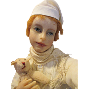 SOLD Stunning Artist Doll by Avagail Anna Brahms for Tiffany's in Manhattan Christmas Store Wi