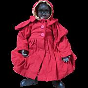 Sweet Black Folk Art Arnett Doll - Display's Beautifully