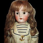 Sensational Kestner 136 Character Child Bisque Head Doll