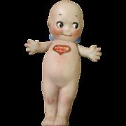 Antique Kewpie with Belly Sticker