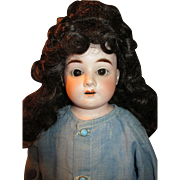 Antique Bisque Ernst Heubach Doll with the Early Horseshoe Mark