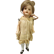 Adorable All Bisque Doll House Doll
