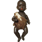 Adorable Black Heubach Baby