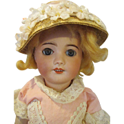 "Antique French 16"" SFBJ Bebe Doll"