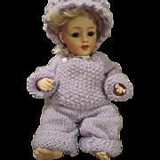 Rare Heubach 7660 Bisque Baby Doll