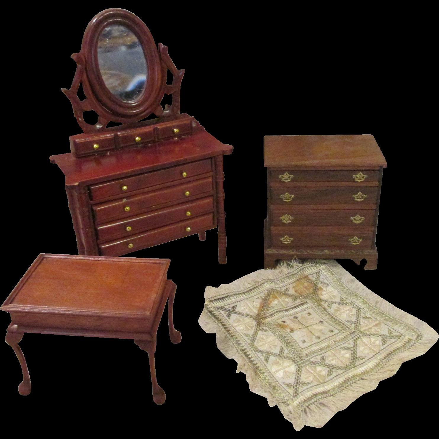 Vintage Doll House Furniture 13