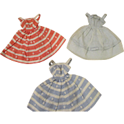 Vintage Barbie Sun Dresses - Group of 3
