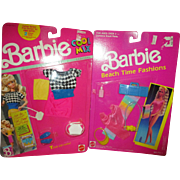 Two Barbie Outfits - Never Removed From Packaging