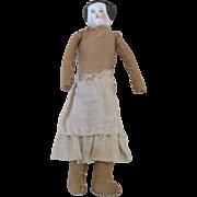 """Tiny 3"""" China Head Doll"""