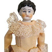 Charming Antique China Head Doll from 1890's