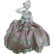 Lovely Antique Bisque German Pin Cushion Doll