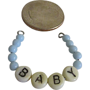 1950's Dy Dee Baby or Tiny Tears Doll Hospital Bracelet