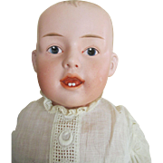 Gebruder Heubach #7129 Open-Closed Mouth Character Doll