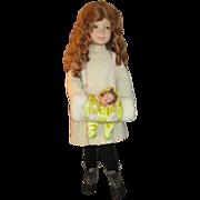 Vintage Child Mannequin in Antique Clothing