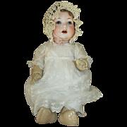 """Darling 16"""" AM 971 Baby Doll in Cute Dress"""