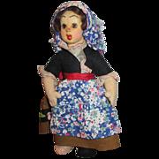 Antique Lenci Mascotte Doll - Adorable Face