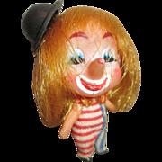 "Tiny 2"" Liddle Kiddle Type Clown Doll"